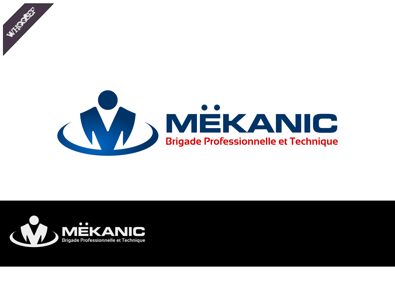 Logo Design by whoosef - Entry No. 40 in the Logo Design Contest Creative Logo Design for MËKANIC - Professional and technical squad.