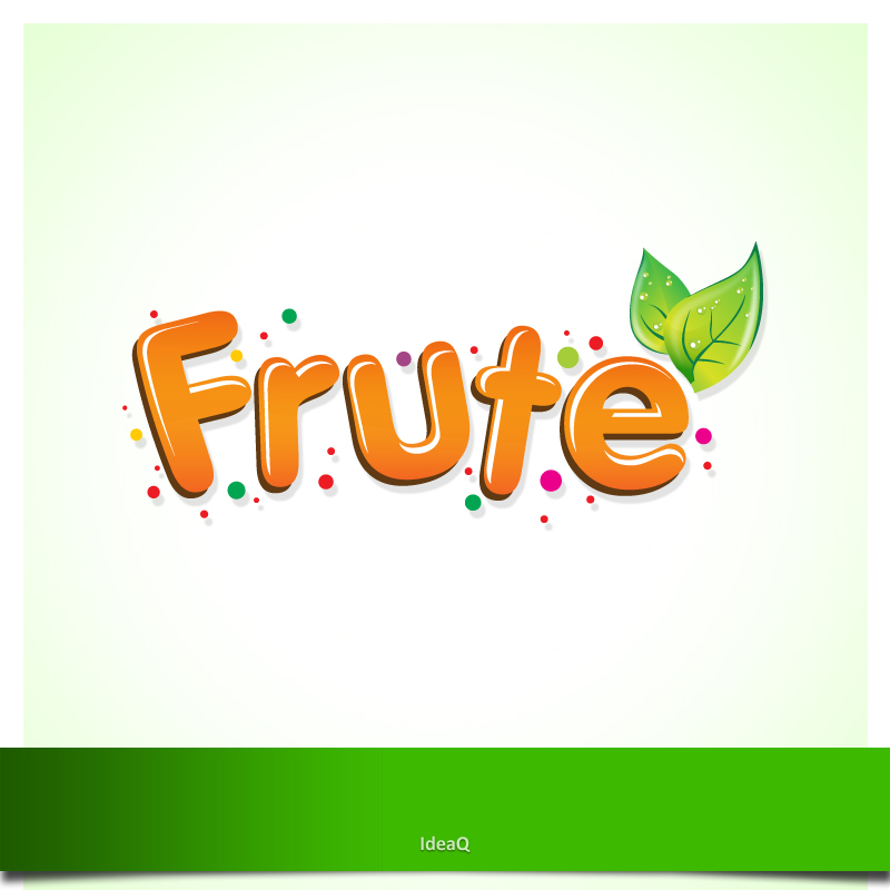Logo Design by Private User - Entry No. 91 in the Logo Design Contest Imaginative Logo Design for Fruté.