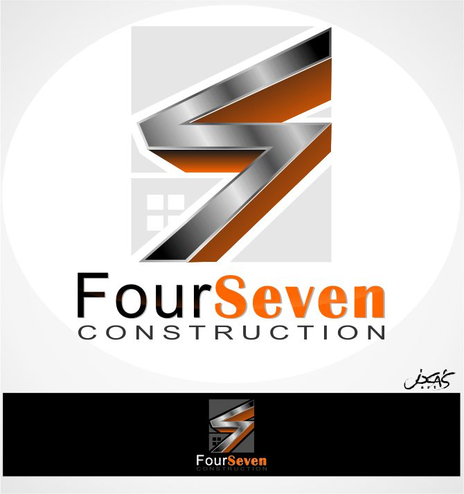 Logo Design by joca - Entry No. 112 in the Logo Design Contest New Logo Design for foursevens.