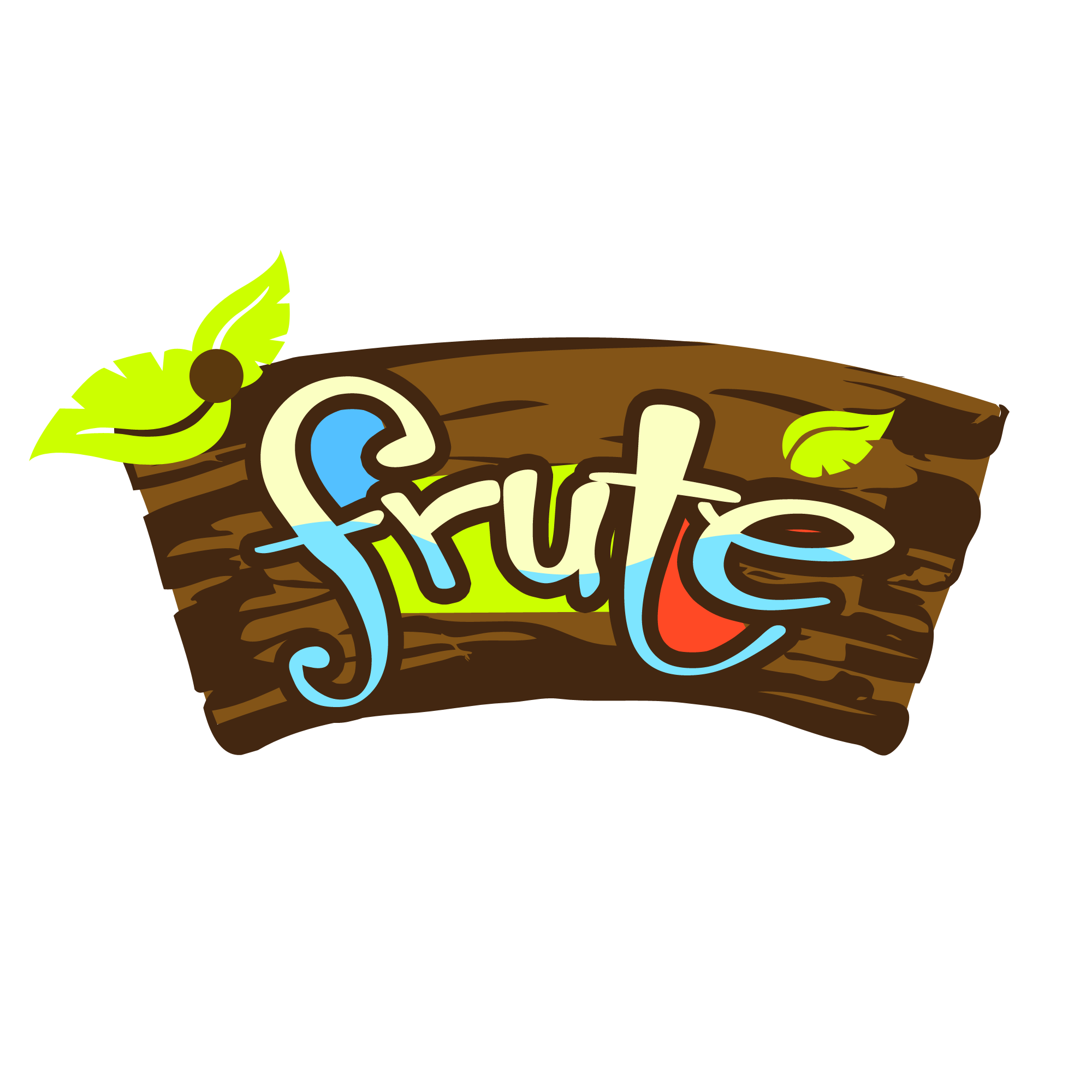 Logo Design by Kenneth Joel - Entry No. 92 in the Logo Design Contest Imaginative Logo Design for Fruté.
