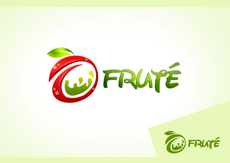 Logo Design by Respati Himawan - Entry No. 95 in the Logo Design Contest Imaginative Logo Design for Fruté.