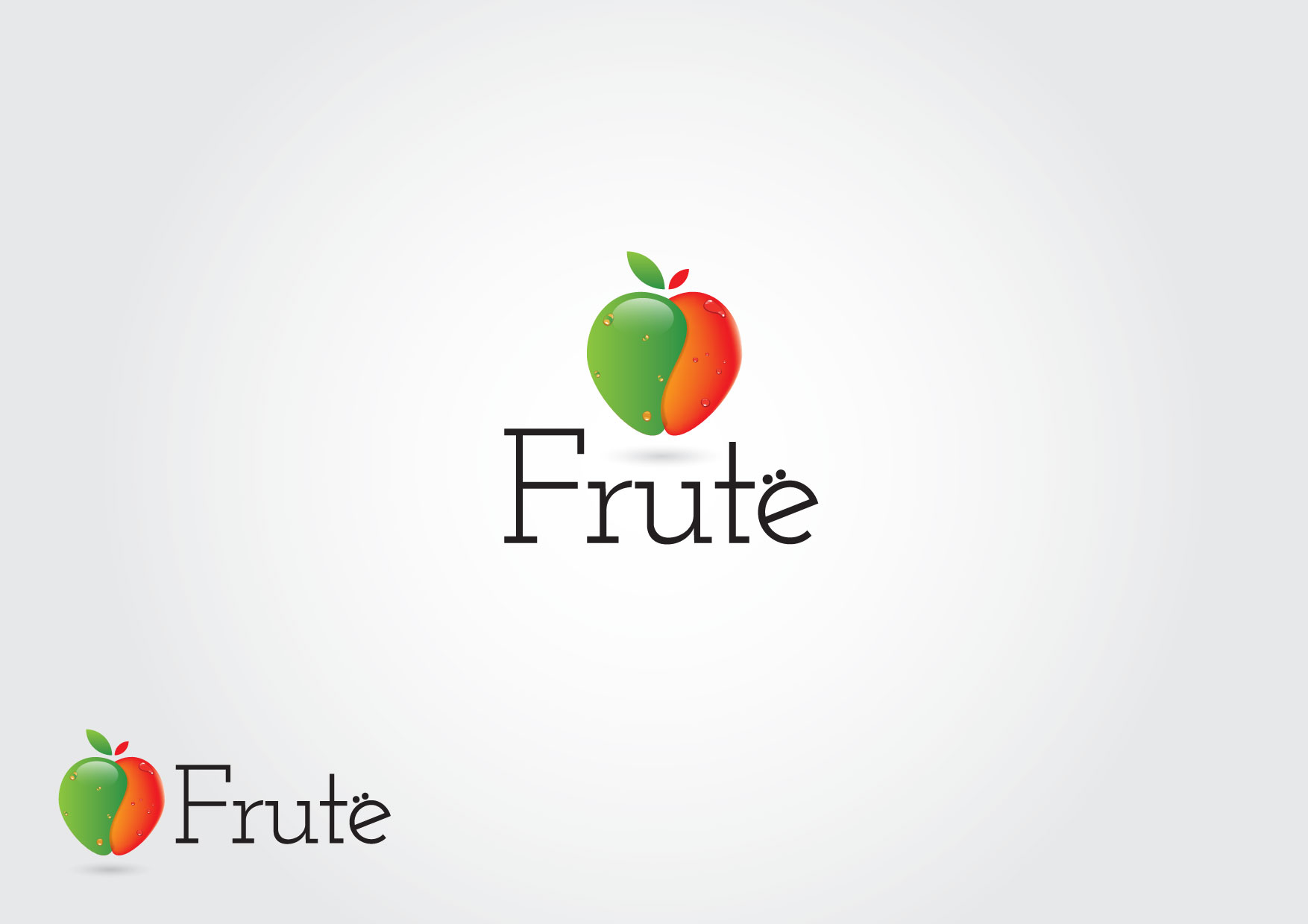 Logo Design by Dit L Pambudi - Entry No. 97 in the Logo Design Contest Imaginative Logo Design for Fruté.