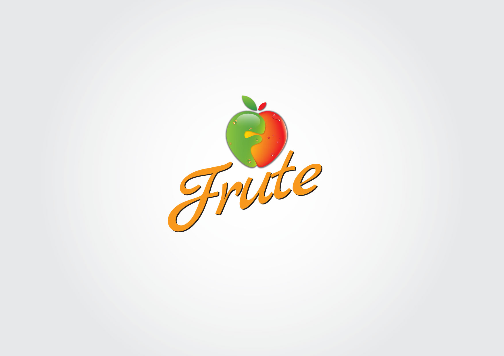 Logo Design by Dit L Pambudi - Entry No. 98 in the Logo Design Contest Imaginative Logo Design for Fruté.