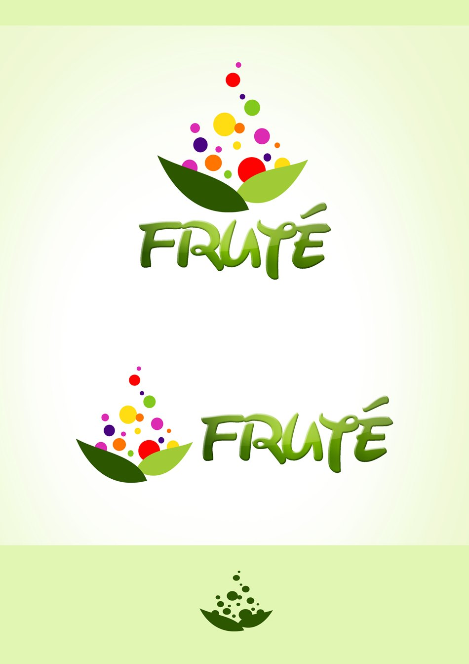 Logo Design by Respati Himawan - Entry No. 99 in the Logo Design Contest Imaginative Logo Design for Fruté.