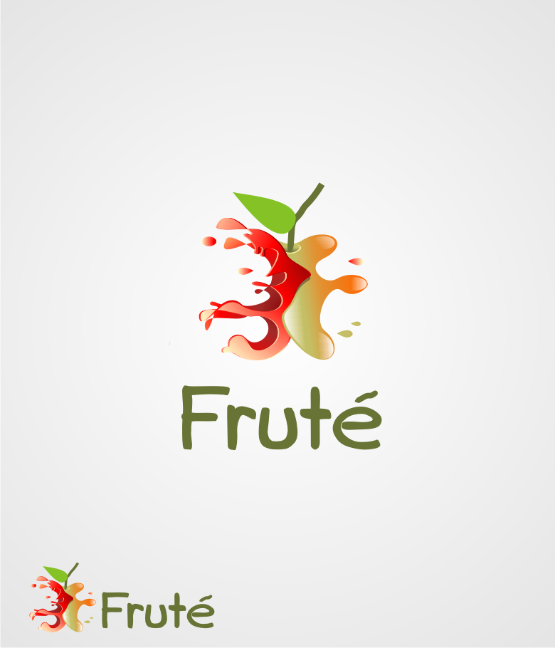 Logo Design by graphicleaf - Entry No. 100 in the Logo Design Contest Imaginative Logo Design for Fruté.