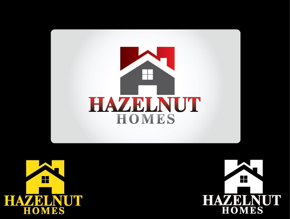 Logo Design by Private User - Entry No. 5 in the Logo Design Contest Unique Logo Design Wanted for Hazelnut Homes.