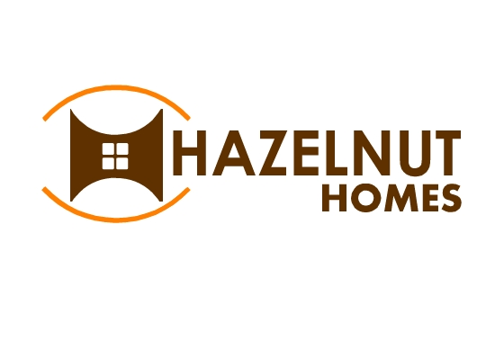 Logo Design by Ismail Adhi Wibowo - Entry No. 6 in the Logo Design Contest Unique Logo Design Wanted for Hazelnut Homes.
