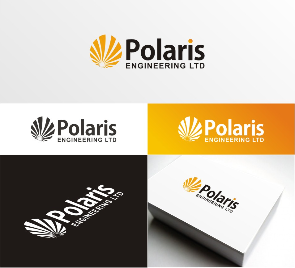 Logo Design by BEER - Entry No. 60 in the Logo Design Contest Polaris Engineering Ltd.