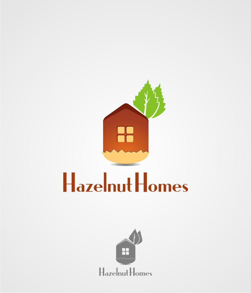 Logo Design by graphicleaf - Entry No. 7 in the Logo Design Contest Unique Logo Design Wanted for Hazelnut Homes.