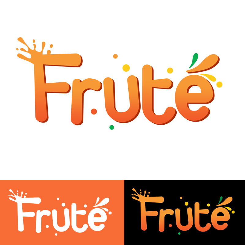 Logo Design by Private User - Entry No. 107 in the Logo Design Contest Imaginative Logo Design for Fruté.