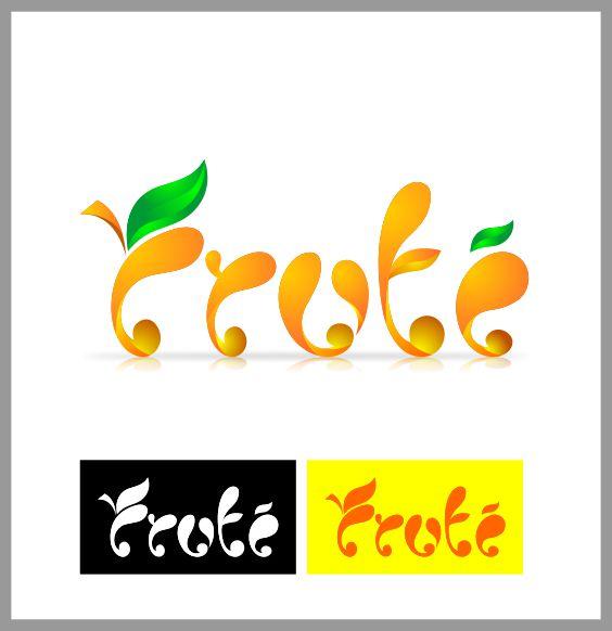 Logo Design by brown_hair - Entry No. 108 in the Logo Design Contest Imaginative Logo Design for Fruté.