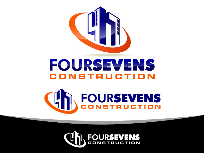 Logo Design by Richard Soriano - Entry No. 124 in the Logo Design Contest New Logo Design for foursevens.