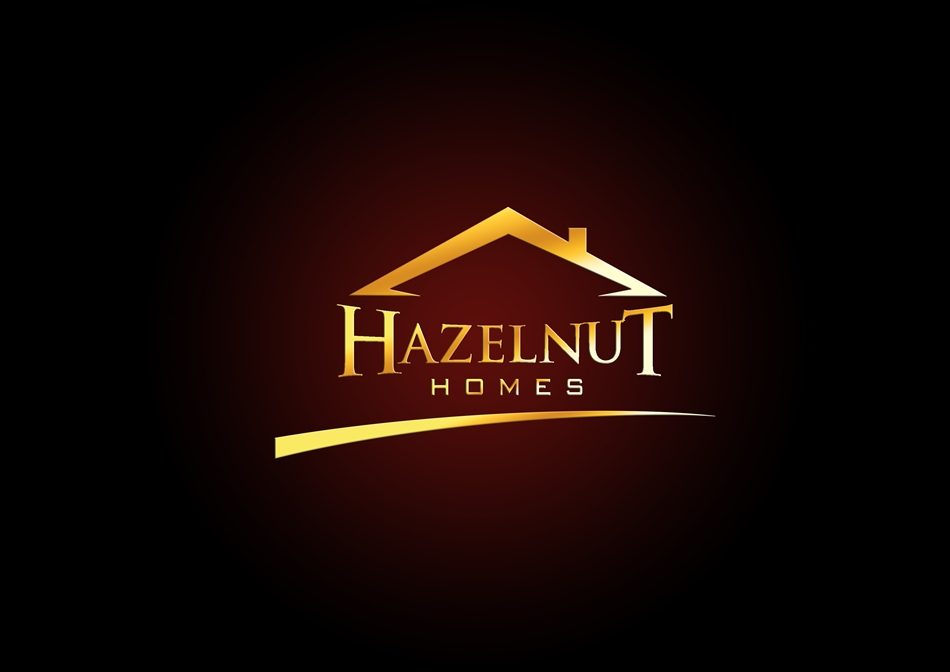Logo Design by Respati Himawan - Entry No. 9 in the Logo Design Contest Unique Logo Design Wanted for Hazelnut Homes.