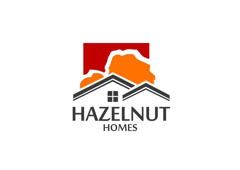 Logo Design by Respati Himawan - Entry No. 10 in the Logo Design Contest Unique Logo Design Wanted for Hazelnut Homes.
