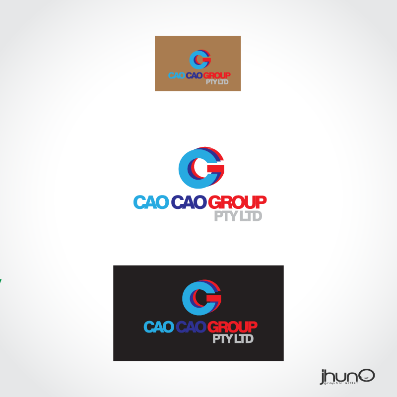 Logo Design by zesthar - Entry No. 30 in the Logo Design Contest cao cao group pty ltd Logo Design.