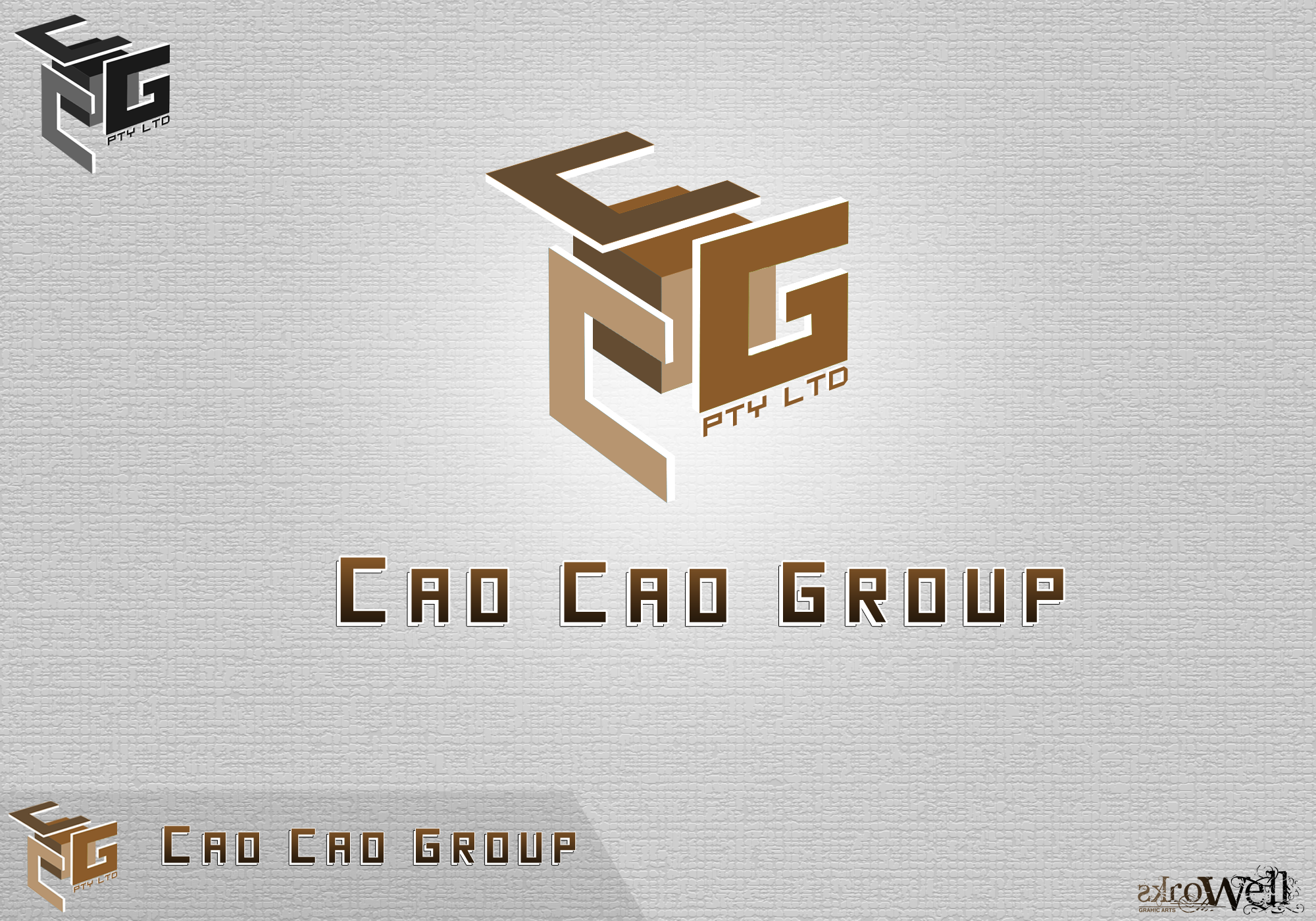 Logo Design by Rowell - Entry No. 31 in the Logo Design Contest cao cao group pty ltd Logo Design.
