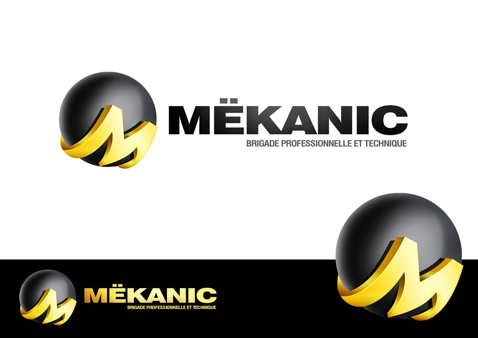 Logo Design by Respati Himawan - Entry No. 46 in the Logo Design Contest Creative Logo Design for MËKANIC - Professional and technical squad.