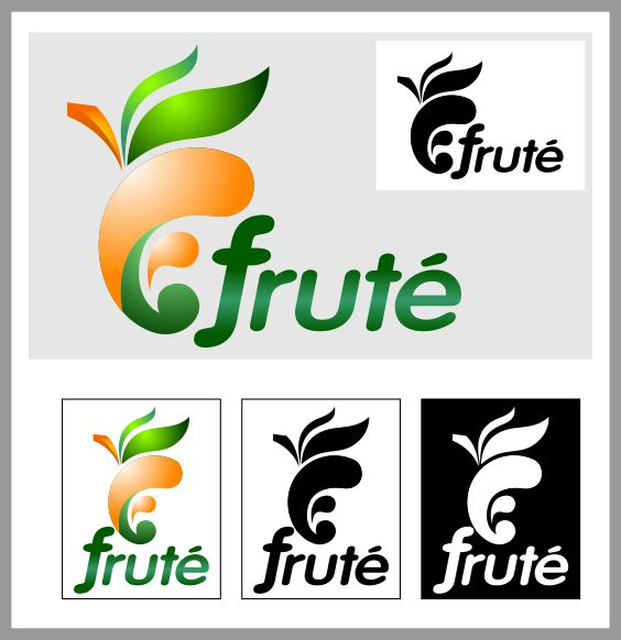 Logo Design by brown_hair - Entry No. 112 in the Logo Design Contest Imaginative Logo Design for Fruté.