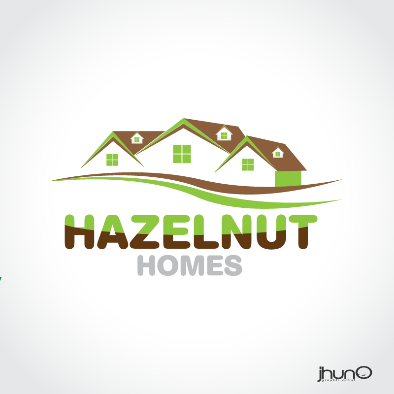 Logo Design by zesthar - Entry No. 13 in the Logo Design Contest Unique Logo Design Wanted for Hazelnut Homes.
