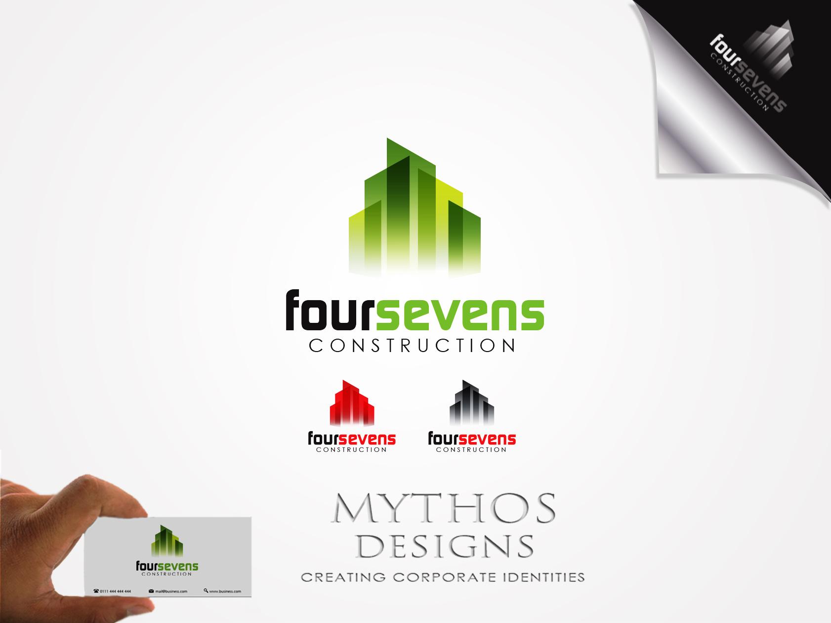 Logo Design by Mythos Designs - Entry No. 137 in the Logo Design Contest New Logo Design for foursevens.