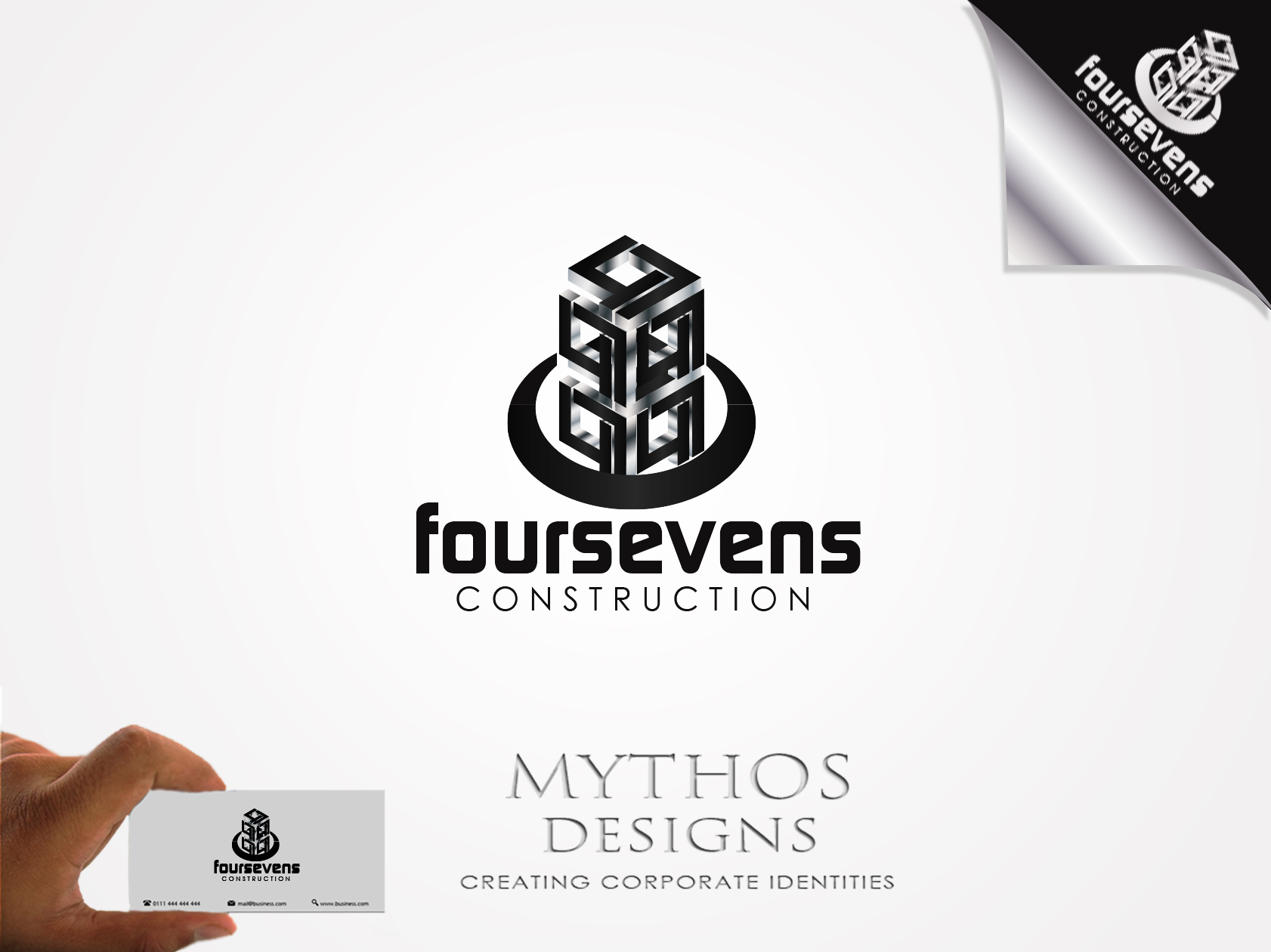 Logo Design by Mythos Designs - Entry No. 139 in the Logo Design Contest New Logo Design for foursevens.