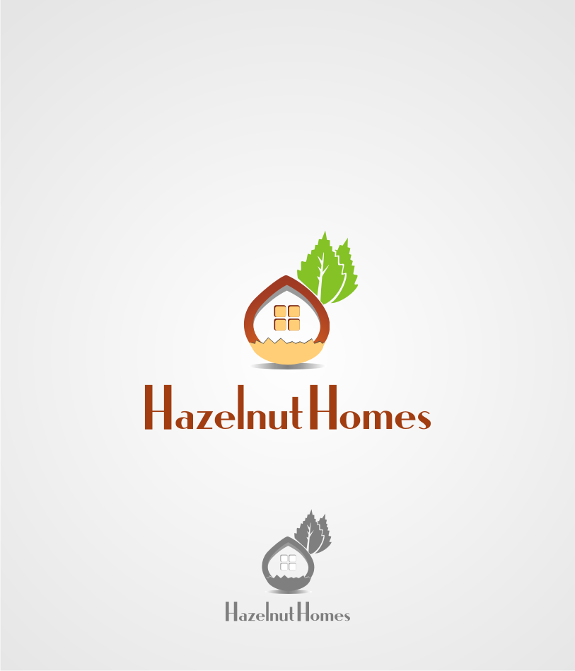 Logo Design by graphicleaf - Entry No. 15 in the Logo Design Contest Unique Logo Design Wanted for Hazelnut Homes.