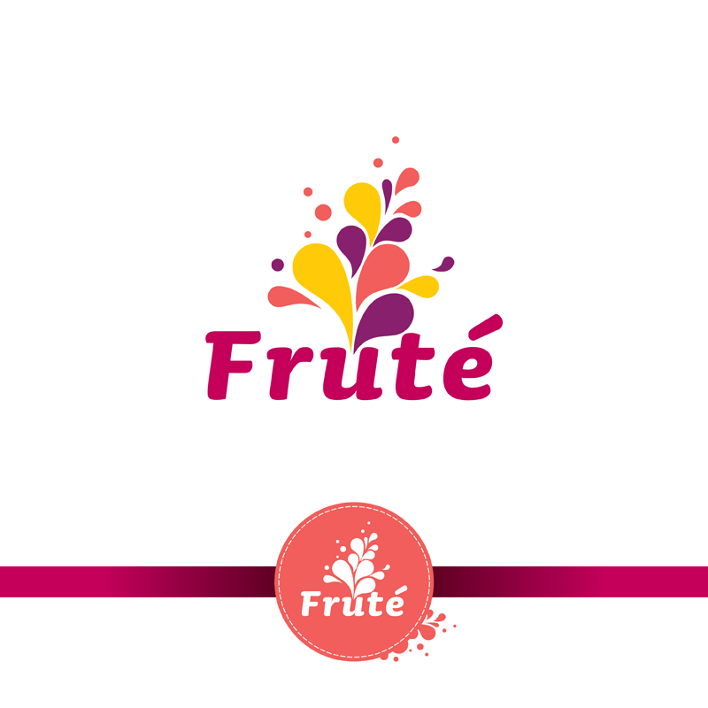 Logo Design by kianoke - Entry No. 117 in the Logo Design Contest Imaginative Logo Design for Fruté.