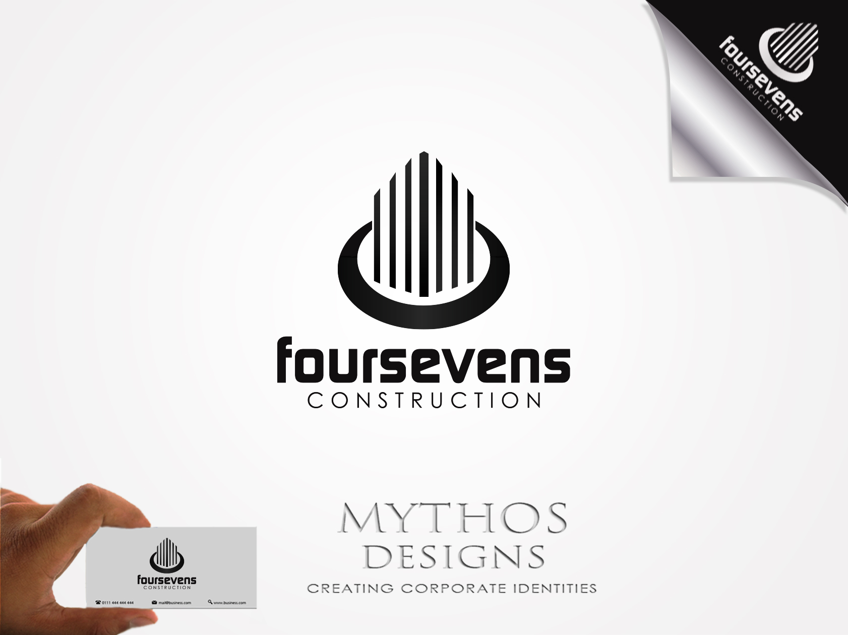 Logo Design by Mythos Designs - Entry No. 140 in the Logo Design Contest New Logo Design for foursevens.