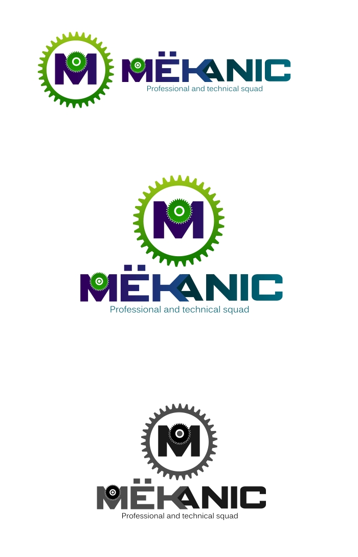 Logo Design by Private User - Entry No. 49 in the Logo Design Contest Creative Logo Design for MËKANIC - Professional and technical squad.