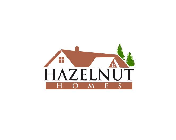 Logo Design by ronny - Entry No. 17 in the Logo Design Contest Unique Logo Design Wanted for Hazelnut Homes.