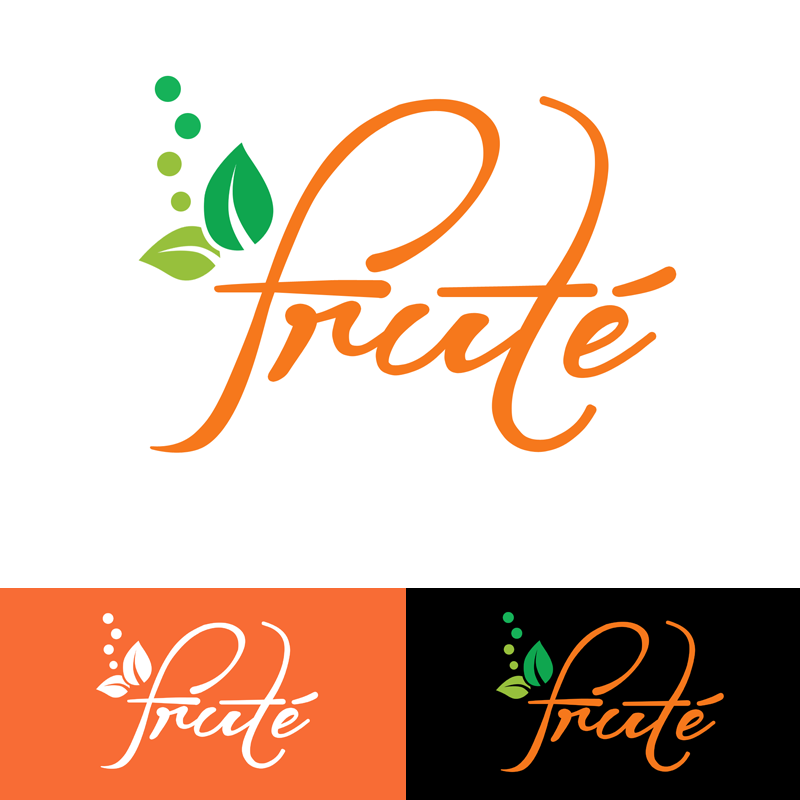 Logo Design by Robert Turla - Entry No. 121 in the Logo Design Contest Imaginative Logo Design for Fruté.