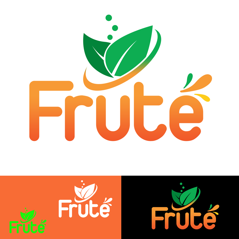 Logo Design by Private User - Entry No. 123 in the Logo Design Contest Imaginative Logo Design for Fruté.