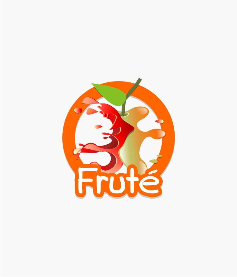 Logo Design by graphicleaf - Entry No. 124 in the Logo Design Contest Imaginative Logo Design for Fruté.