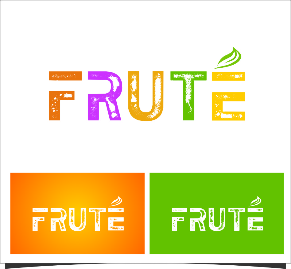 Logo Design by Ngepet_art - Entry No. 127 in the Logo Design Contest Imaginative Logo Design for Fruté.