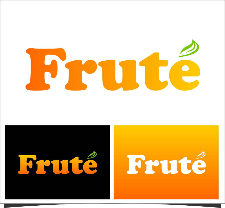 Logo Design by Ngepet_art - Entry No. 129 in the Logo Design Contest Imaginative Logo Design for Fruté.