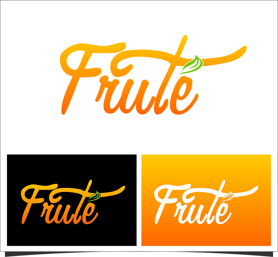 Logo Design by Ngepet_art - Entry No. 133 in the Logo Design Contest Imaginative Logo Design for Fruté.