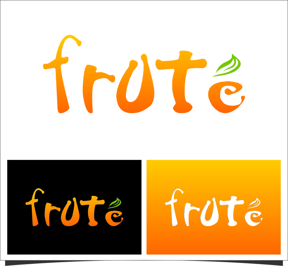 Logo Design by Ngepet_art - Entry No. 134 in the Logo Design Contest Imaginative Logo Design for Fruté.