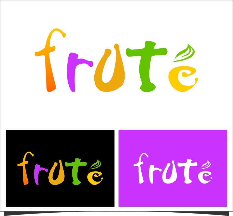 Logo Design by Ngepet_art - Entry No. 135 in the Logo Design Contest Imaginative Logo Design for Fruté.