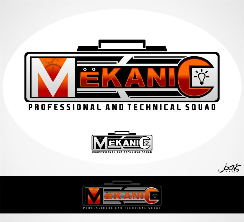 Logo Design by joca - Entry No. 57 in the Logo Design Contest Creative Logo Design for MËKANIC - Professional and technical squad.