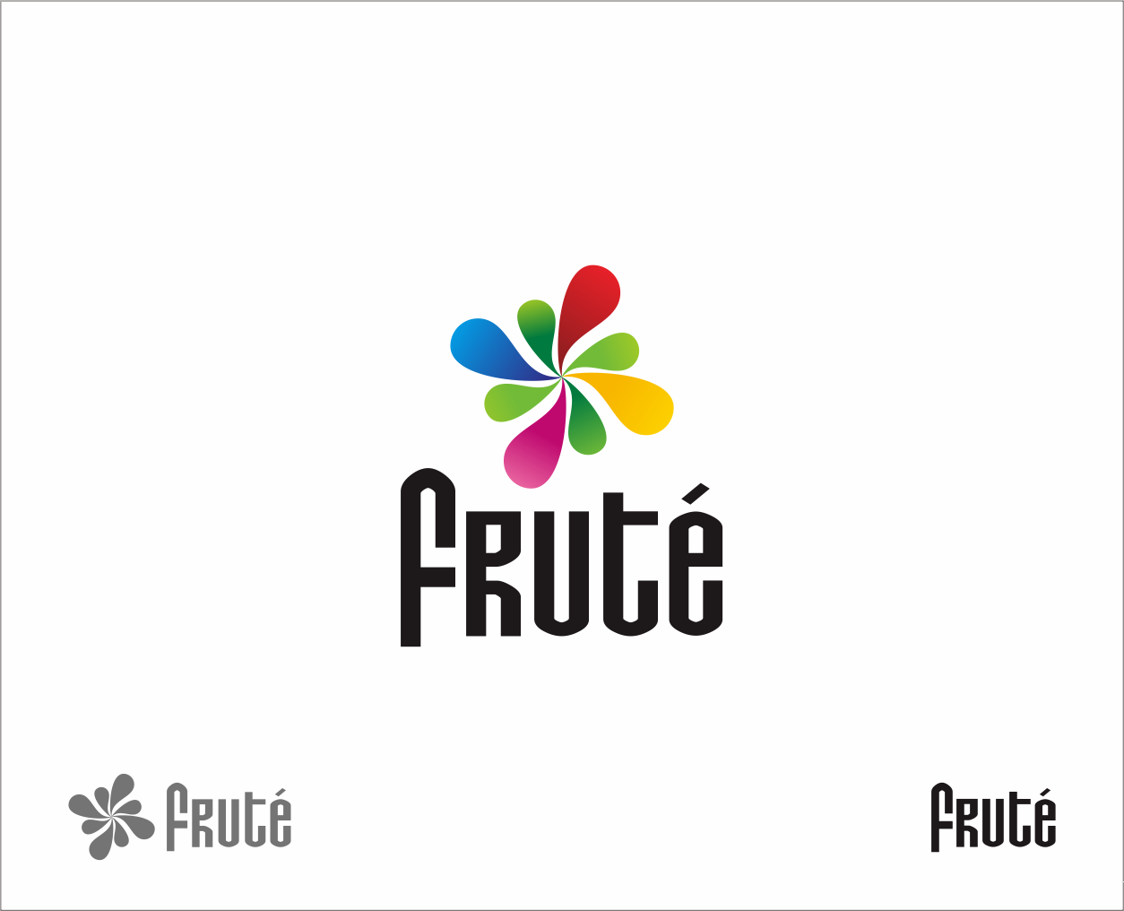 Logo Design by Armada Jamaluddin - Entry No. 136 in the Logo Design Contest Imaginative Logo Design for Fruté.