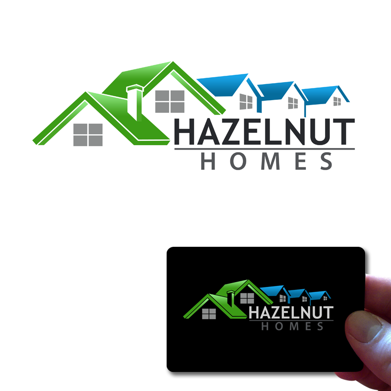 Logo Design by Private User - Entry No. 20 in the Logo Design Contest Unique Logo Design Wanted for Hazelnut Homes.