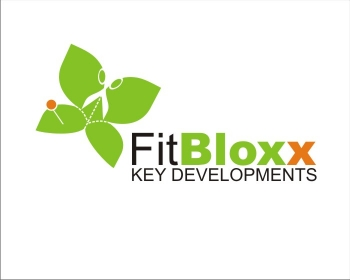 Logo Design by SquaredDesign - Entry No. 86 in the Logo Design Contest FitBloxx (creating block fits for the apparel industry).