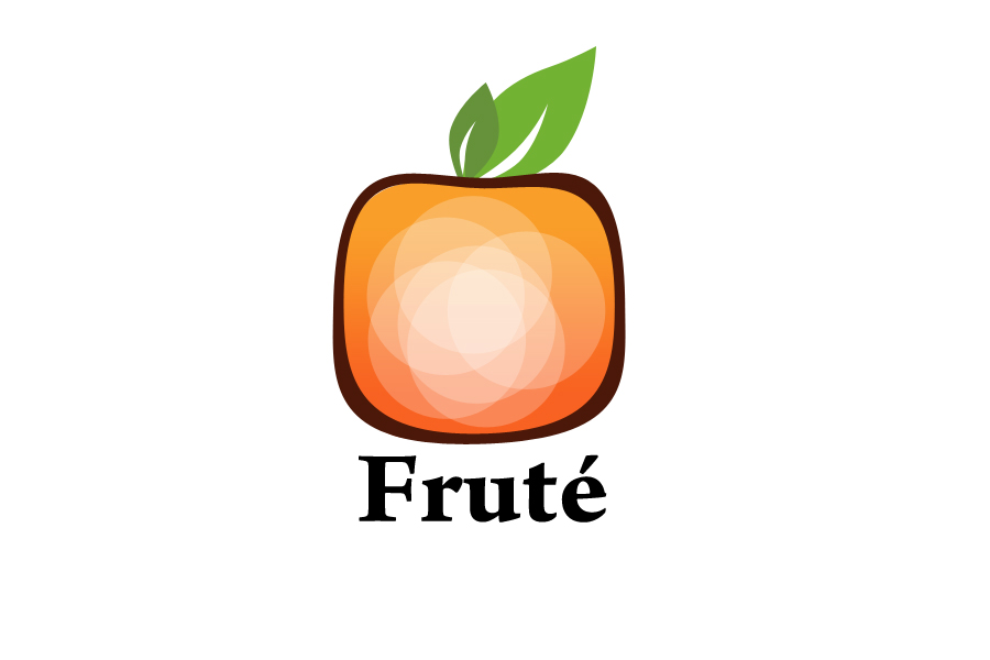 Logo Design by Sonu Boniya - Entry No. 141 in the Logo Design Contest Imaginative Logo Design for Fruté.