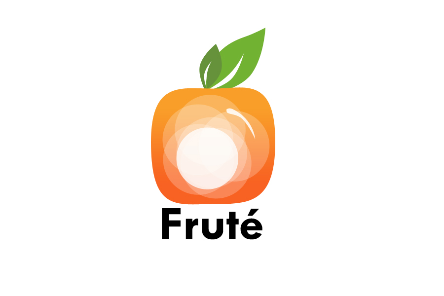Logo Design by Sonu Boniya - Entry No. 144 in the Logo Design Contest Imaginative Logo Design for Fruté.