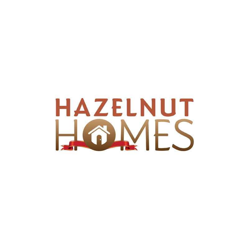 Logo Design by kianoke - Entry No. 21 in the Logo Design Contest Unique Logo Design Wanted for Hazelnut Homes.
