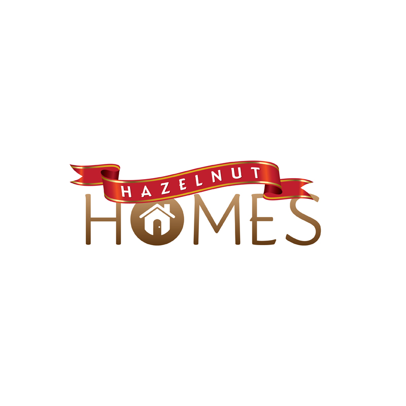 Logo Design by kianoke - Entry No. 22 in the Logo Design Contest Unique Logo Design Wanted for Hazelnut Homes.