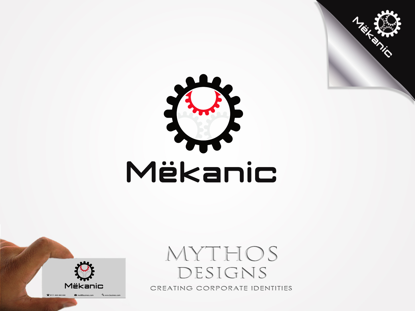 Logo Design by Mythos Designs - Entry No. 58 in the Logo Design Contest Creative Logo Design for MËKANIC - Professional and technical squad.