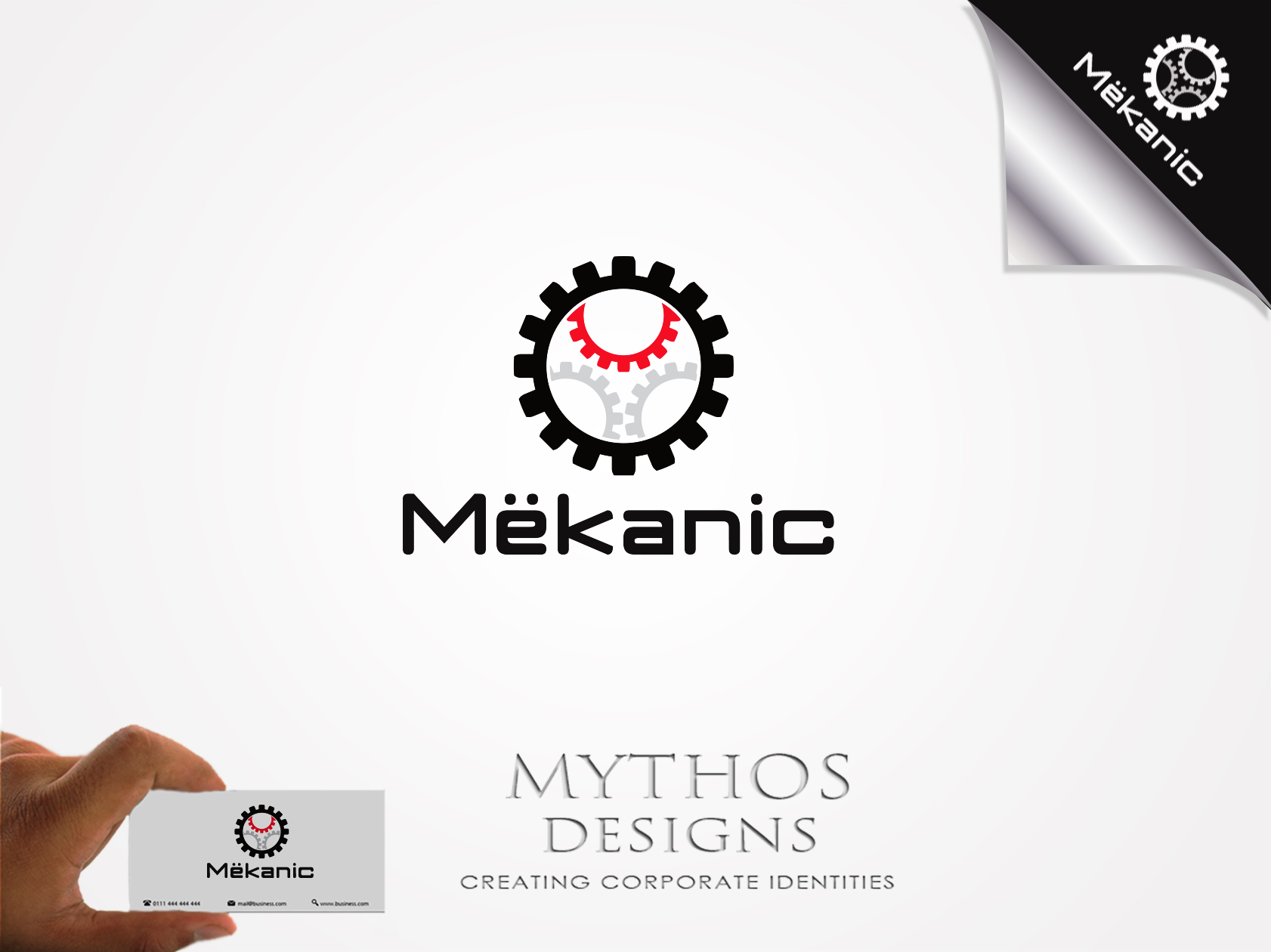Logo Design by Mythos Designs - Entry No. 59 in the Logo Design Contest Creative Logo Design for MËKANIC - Professional and technical squad.