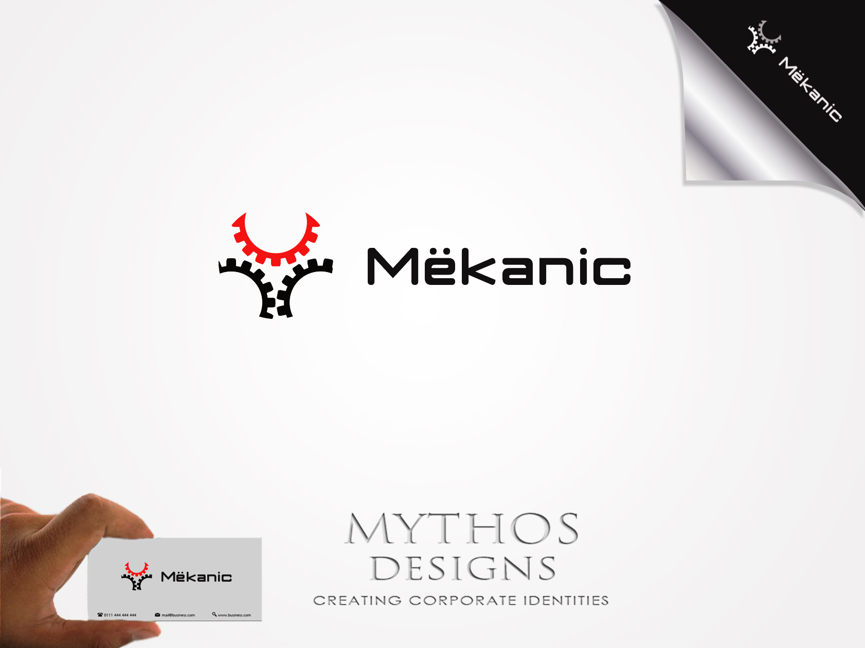 Logo Design by Mythos Designs - Entry No. 60 in the Logo Design Contest Creative Logo Design for MËKANIC - Professional and technical squad.