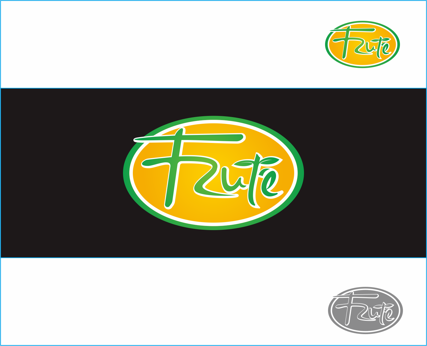 Logo Design by Armada Jamaluddin - Entry No. 147 in the Logo Design Contest Imaginative Logo Design for Fruté.